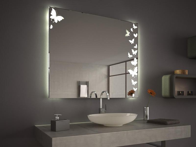 Badezimmerspiegel mit tv