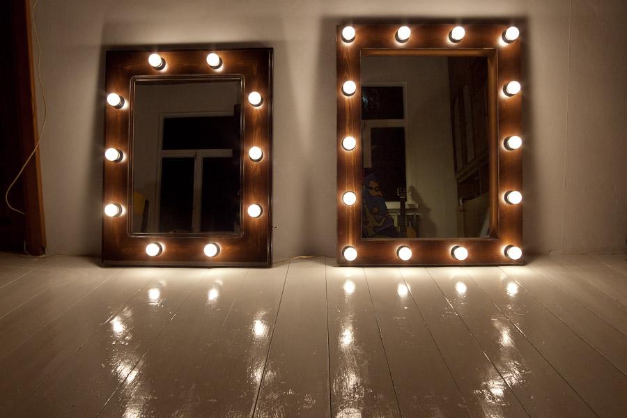 Как сделать зеркало для макияжа с подсветкой 51