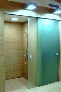 Раздвижная стеклянная дверь №1