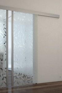 Раздвижная стеклянная дверь №12