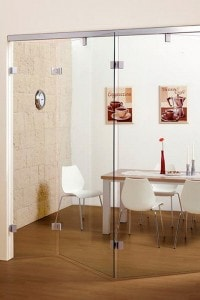 Раздвижная стеклянная дверь №13