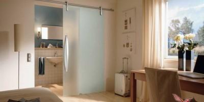 Как ухаживать за матовой стеклянной дверью