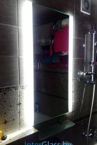 Зеркало с подсветкой №19