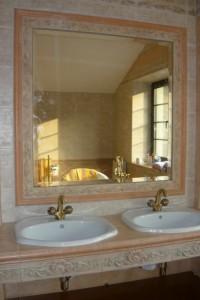 Зеркало в ванную №13