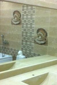 Зеркало в ванную №17
