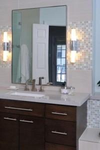 Зеркало в ванную №26