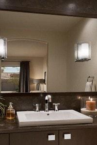 Зеркало в ванную №30