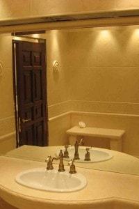Зеркало в ванную №35
