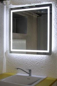Зеркало с подсветкой №10