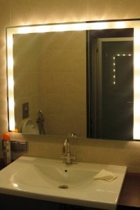 Зеркало с подсветкой №11