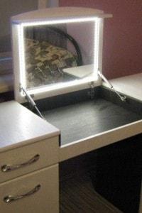 Зеркало с подсветкой №14
