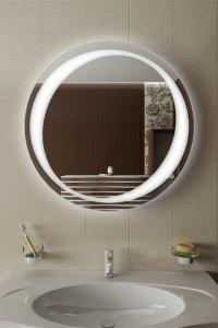 Зеркало с подсветкой №6