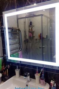 Зеркало с подсветкой №16