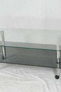 Стеклянный журнальный стол №2