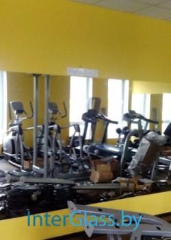 Зеркала в тренажерном зале
