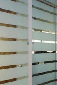 Стеклянная перегородка для офиса или магазина №21