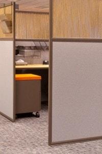 Стеклянная перегородка для офиса или магазина №32