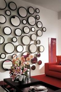 Зеркала в гостиной №5