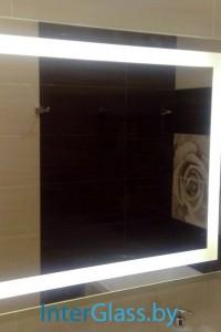 Зеркало с подсветкой №28
