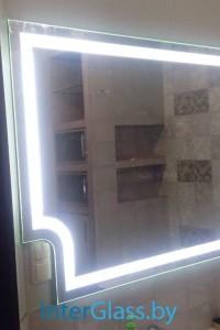 Зеркало с подсветкой №27