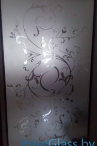 Раздвижная стеклянная дверь №5