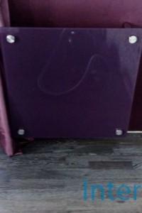 Стеклянный экран на радиатор №3