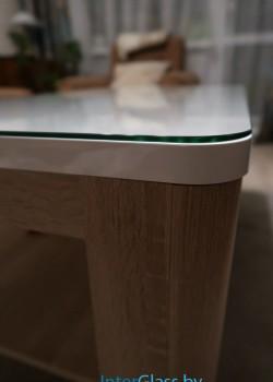 Стеклянная столешница на журнальный столик