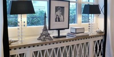 Экраны для радиатора отопления: какие бывают и как выбрать