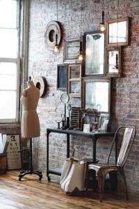 Зеркала в гостиной №21