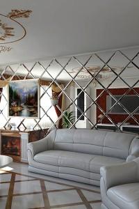 Зеркала в гостиной №23