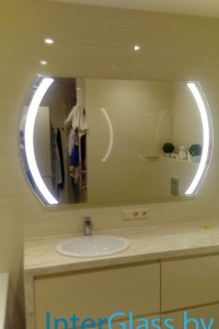 Зеркало с подсветкой №3