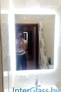 Зеркало с подсветкой №8