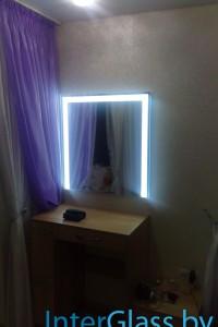 Зеркало с подсветкой №13