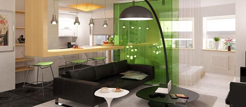 Стеклянные перегородки в квартире для стильного интерьера