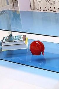 Стеклянный журнальный стол №14
