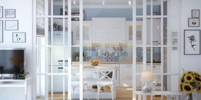 10 способов, как использовать стекло в интерьере. Часть первая.