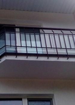 Ограждение балкона пос. Солнечный