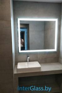 Зеркало с подсветкой №37
