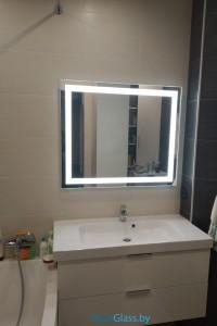 Зеркало с подсветкой №35