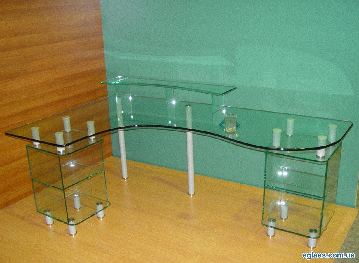 Столы из стекла - императорский стиль.